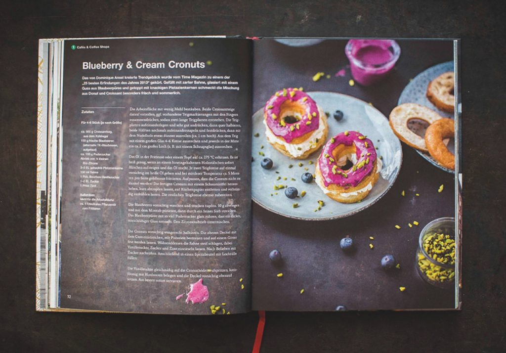 "Rezeptseiten und Food-Fotografie Kochbuch ""New York Capital of food"""
