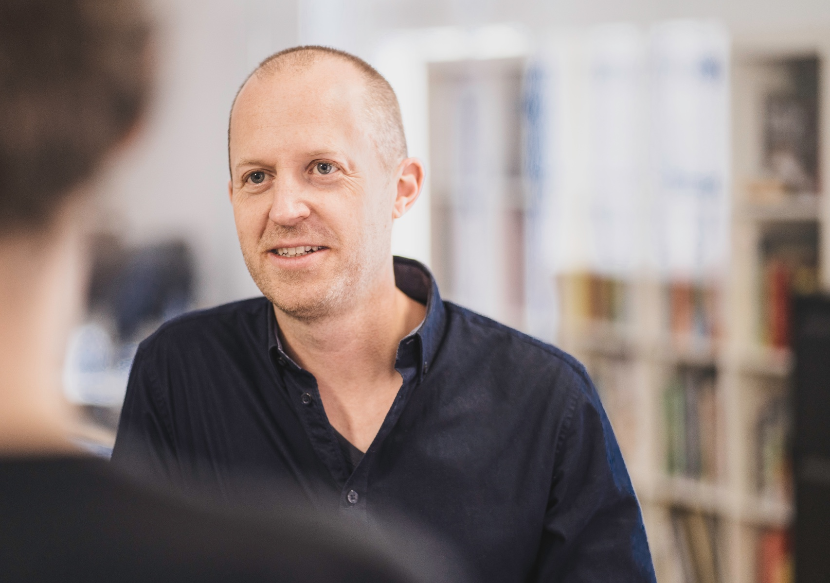 Portrait Situation im Gespräch Lars Wentrup