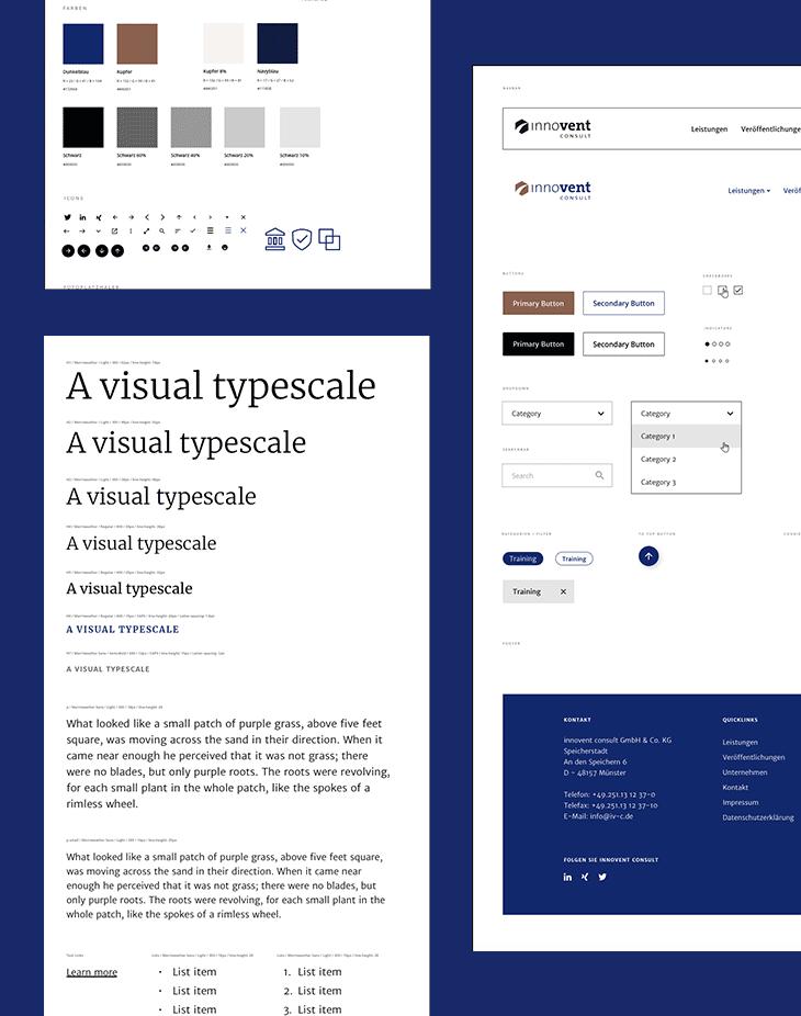 Ein Design System bietet die passenden Zutaten für eine kohärente Website-Gestaltung