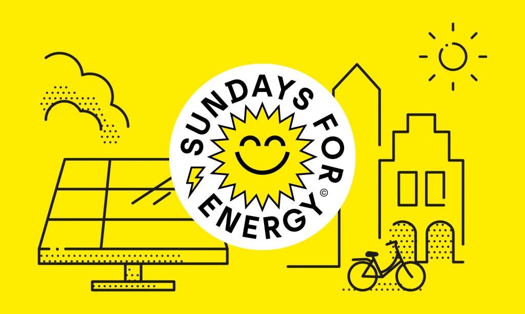 Sundays for Energy Logo und Vorab-Branding